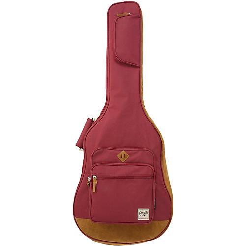 Ibanez POWERPAD Acoustic Guitar Gig Bag Wine Red