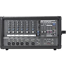 Open Box Phonic Powerpod 620 PLUS 200-Watt 6-Channel Powered Mixer with DFX