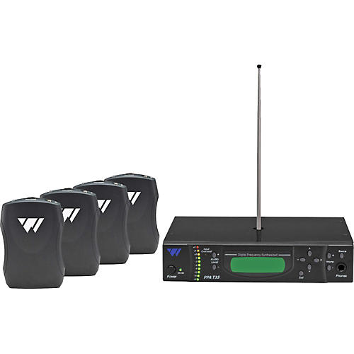 Williams Sound PPA 375 Personal PA Listening System Package