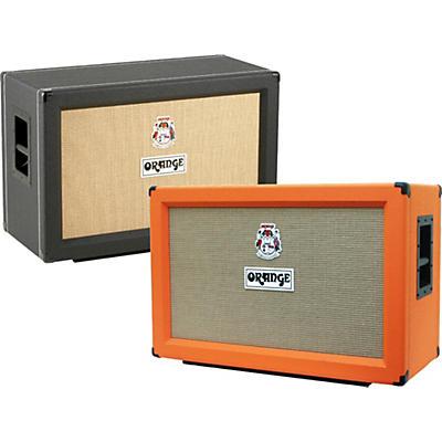 Orange Amplifiers PPC Series PPC212-C 120W 2x12 Closed Back Guitar Speaker Cabinet