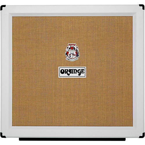 Orange Amplifiers PPC Series PPC412HP8 400W 4x12 Guitar Speaker Cabinet in Limited Edition White