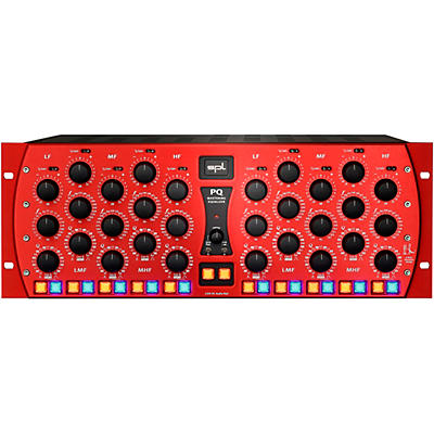 SPL PQ Mastering Equalizer Red