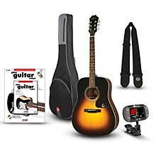 Epiphone PR-150 Acoustic Guitar Bundle