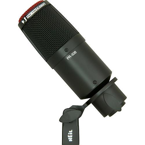 heil sound pr 30b large diaphragm dynamic microphone black musician 39 s friend. Black Bedroom Furniture Sets. Home Design Ideas