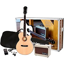 Open BoxEpiphone PR-4E Acoustic-Electric Guitar Player Pack