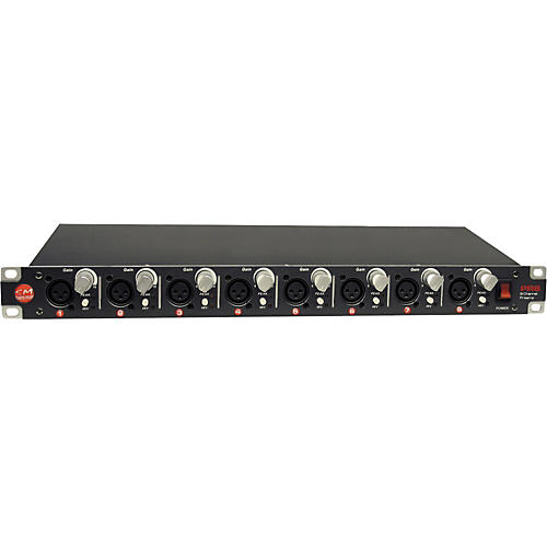 SM Pro Audio PR-8 8-Channel Mic Preamp