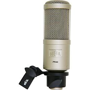 heil sound pr40 large diaphragm multipurpose dynamic microphone musician 39 s friend. Black Bedroom Furniture Sets. Home Design Ideas