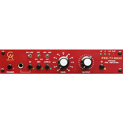Golden Age Project PRE-73 MKIII Mic Preamp