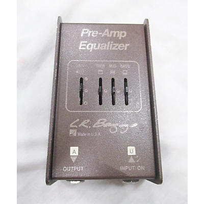 LR Baggs PRE AMP EQUALIZER Pedal