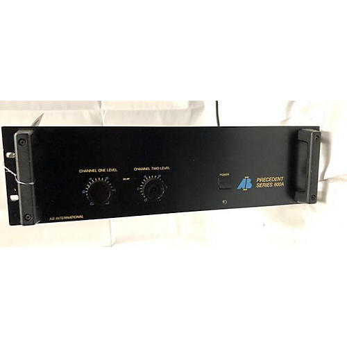 AB International Amplifiers PRECEDENT SERIES Power Amp