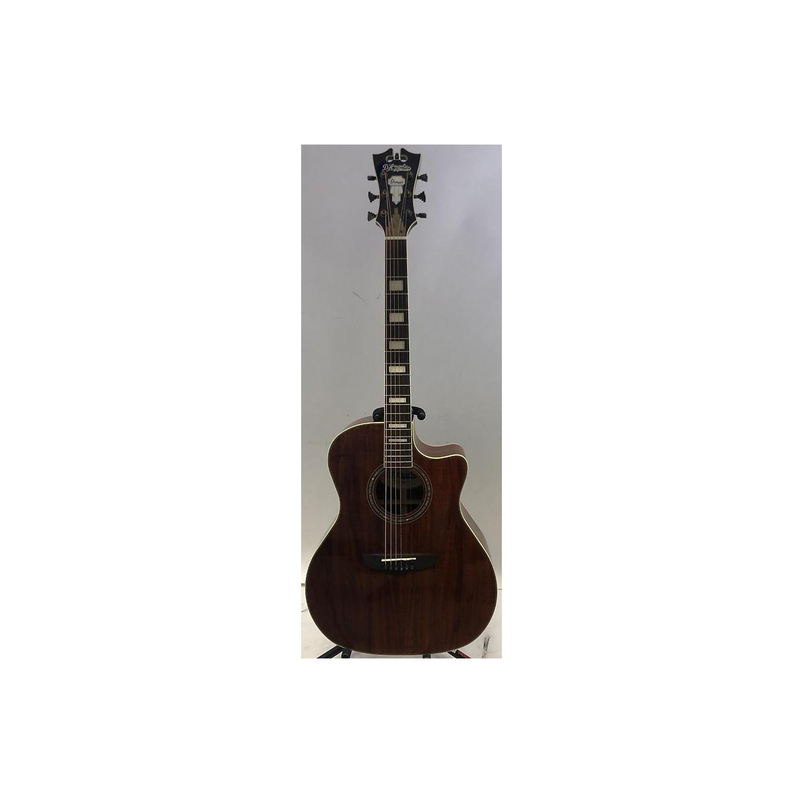 D'Angelico PREMIER GRAMERCY KOA Acoustic Electric Guitar