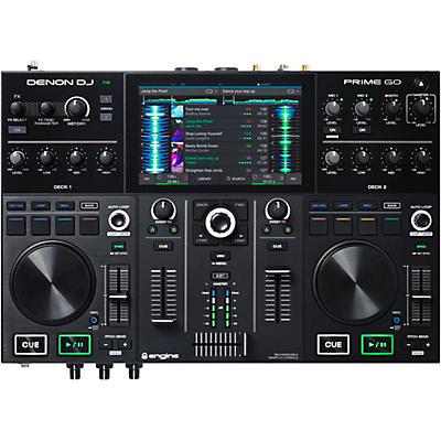 Denon DJ PRIME GO Rechargeable 2-Channel Standalone DJ Controller