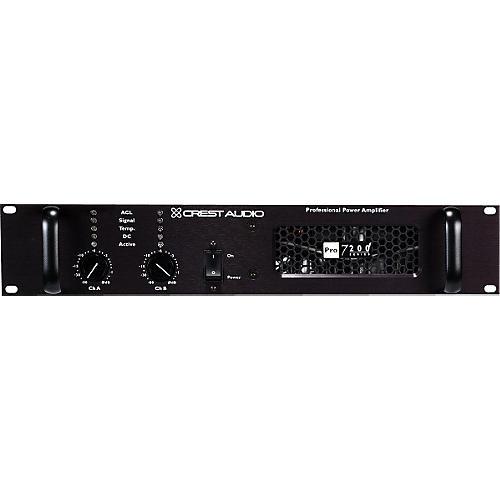 Crest Audio PRO 7200 3300 Watt Power Amplifier