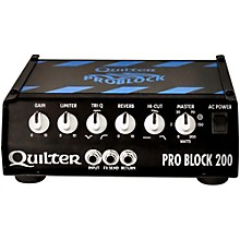 Open Box Quilter Labs PRO BLOCK 200-HEAD ProBlock 200 200W Guitar Amp Head