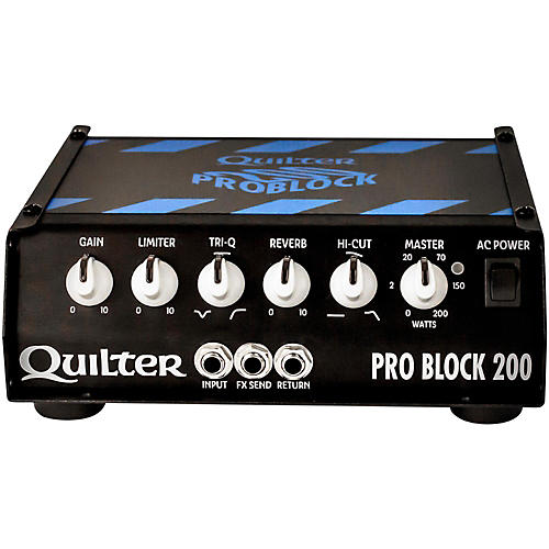 Quilter Labs PRO BLOCK 200-HEAD ProBlock 200 200W Guitar Amp Head Condition 1 - Mint