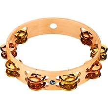 PRO Double Row Tambourine 10 in. Brass/Bronze