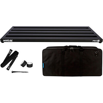 "Pedaltrain PRO FX 32"" x 16"" Pedalboard with Soft Case"