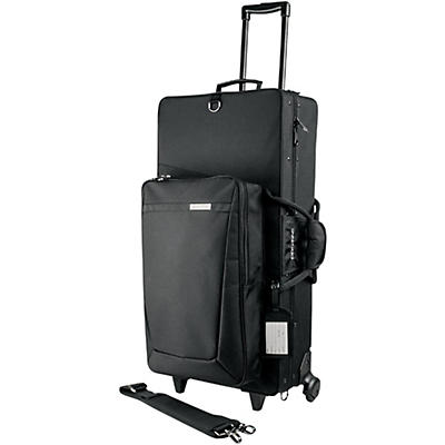 Protec PRO PAC Alto and Straight Soprano Saxophone Case with Wheels
