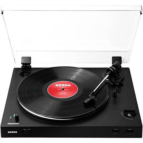 ION PRO200BT Fully Automatic Belt-Drive Wireless Streaming Turntable