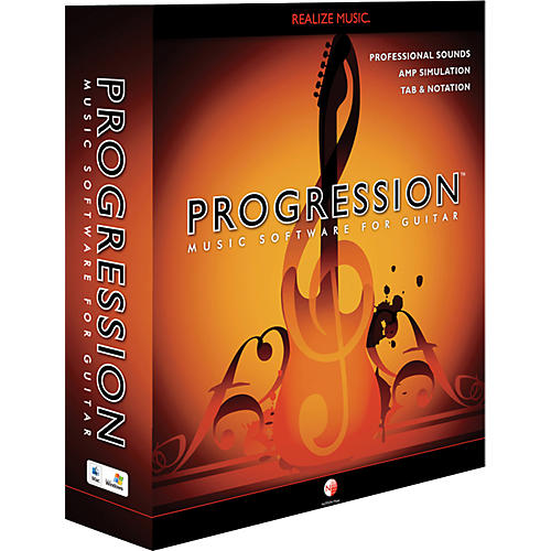 Notion PROGRESSION Guitar Composition Software