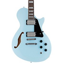 PS-1 Xtone Paramount Series Semi-Hollow Electric Guitar Sonic Blue Black Pickguard