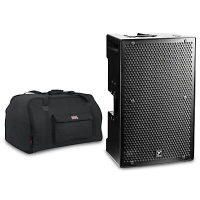 "Yorkville PS15P 15"" 4,400W Powered Speaker with Tote"