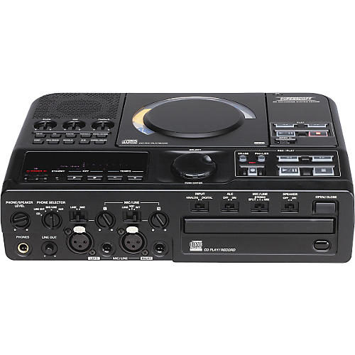 Gear One PSD300 Dual-Well Portable CD Recorder