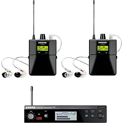 Shure PSM 300 TwinPack Pro