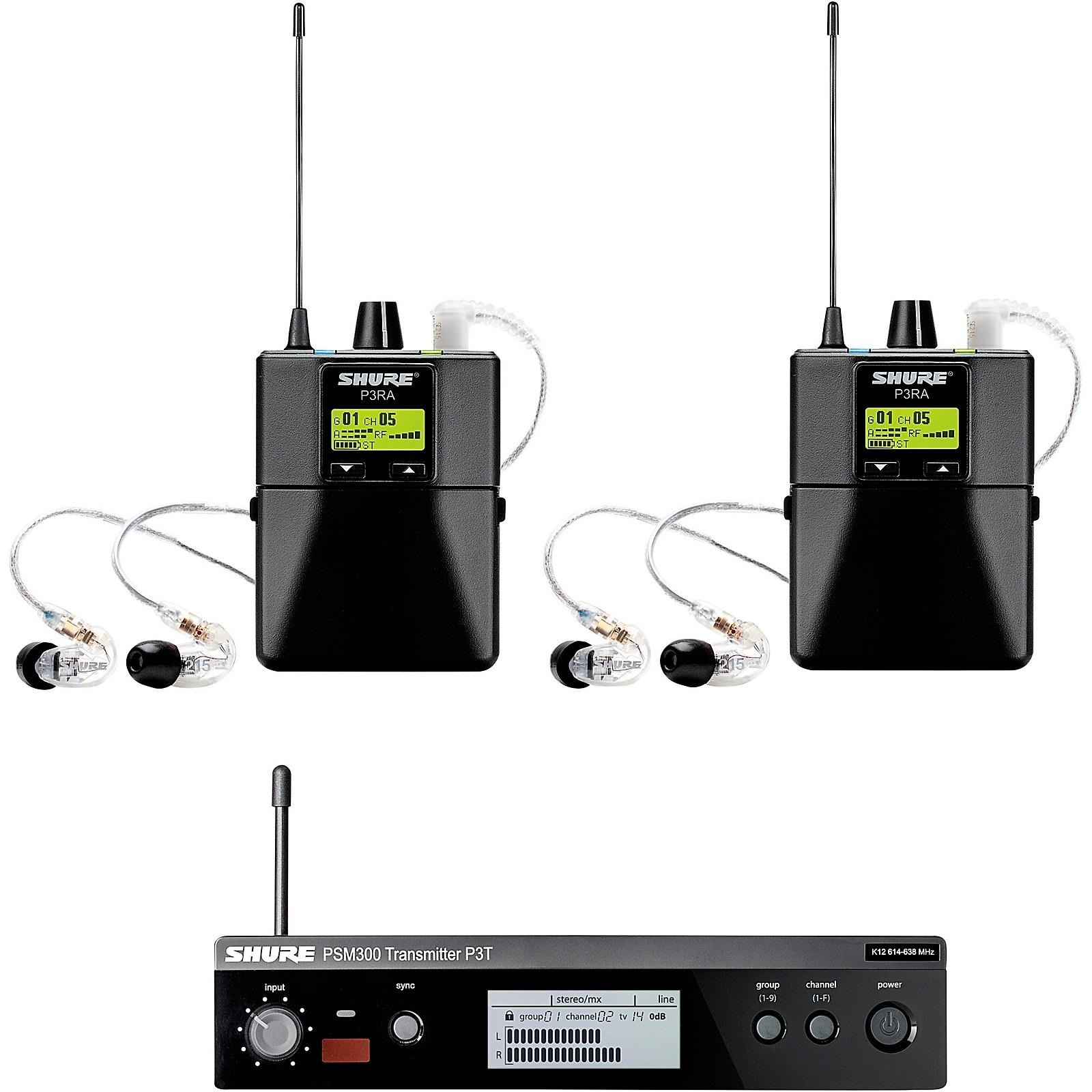 Shure PSM 300 TwinPack Pro