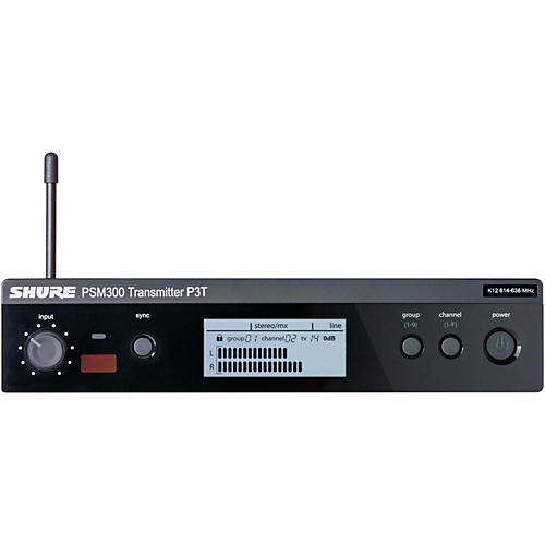 Shure PSM 300 Wireless Transmitter P3T