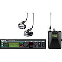 Open Box Shure PSM900 System with P9RA Rechargeable Bodypack Receiver and SE425CL Sound Isolating Earphones