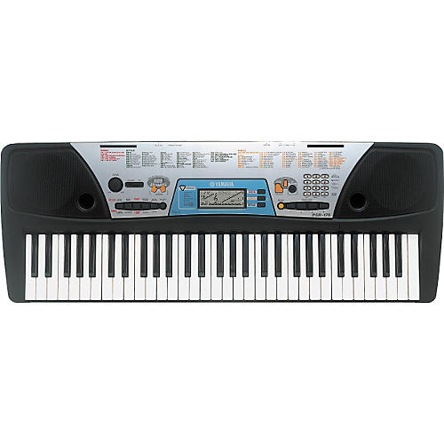 Yamaha psr 170 61 key portable keyboard musician 39 s friend for Yamaha learning keyboard
