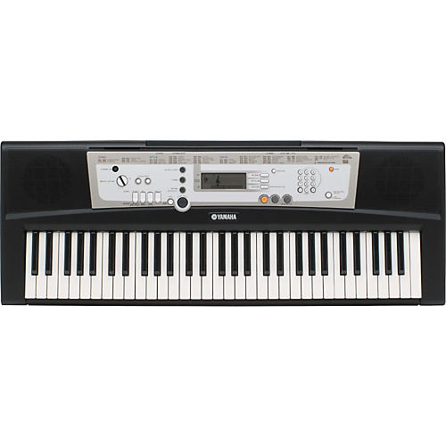 Yamaha psr e203 61 key portable keyboard musician 39 s friend for Yamaha learning keyboard
