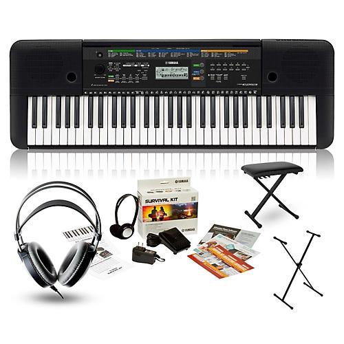 Yamaha PSR-E253 Portable Keyboard Package