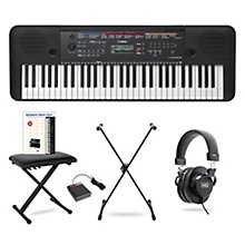 Yamaha PSR-E263 61-Key Portable Keyboard Package