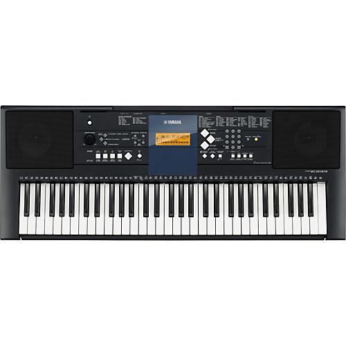 Yamaha PSR-E333 61-Key Mid-Level Portable Keyboard with Survival Kit