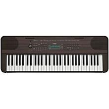 PSR-E360 61-Key Portable Keyboard Walnut