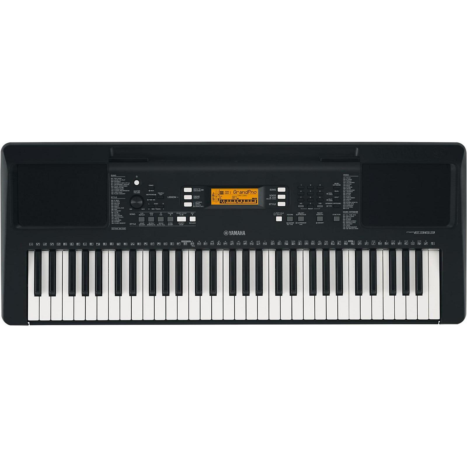 Yamaha PSR-E363 61-Key Portable Keyboard