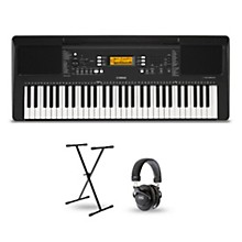 Yamaha PSR-E363 61-Key Portable Keyboard Package