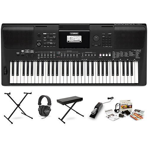 Yamaha PSR-E463 Digital Piano Package With Stand and Bench