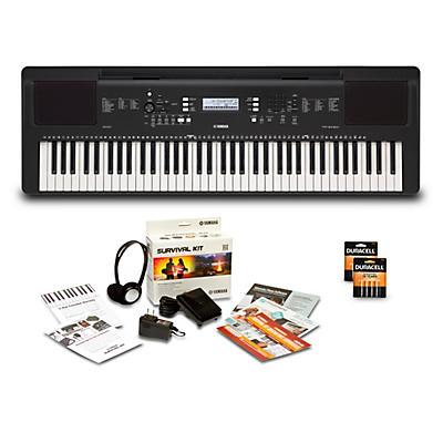 Yamaha PSR-EW310 76-Key Keyboard Package