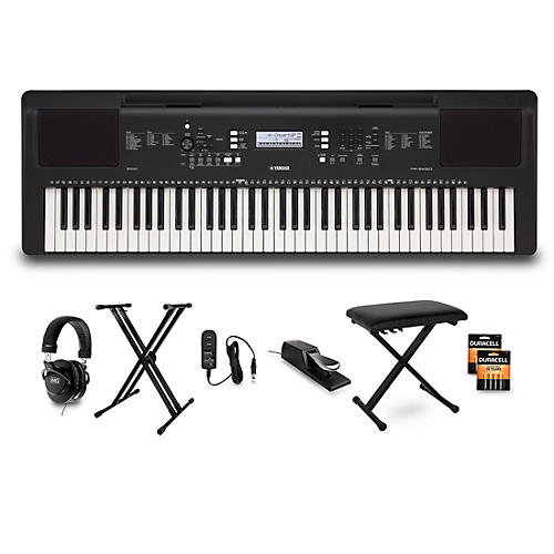 Yamaha PSR-EW310 76-Key Keyboard Package Home Package
