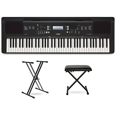 Yamaha PSR-EW310 Digital Piano with Stand and Bench