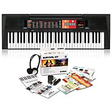 Open Box Yamaha PSR-F51HS 61-Key Portable Keyboard with Power Supply, Headphones and More