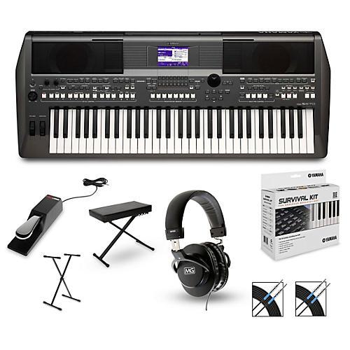 yamaha psr s670 arranger keyboard package musician 39 s friend. Black Bedroom Furniture Sets. Home Design Ideas