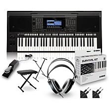 Yamaha PSR-S770 Arranger Keyboard Package