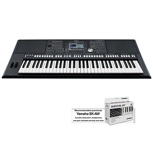 Yamaha psr s950 61 key arranger keyboard musician 39 s friend for Yamaha learning keyboard