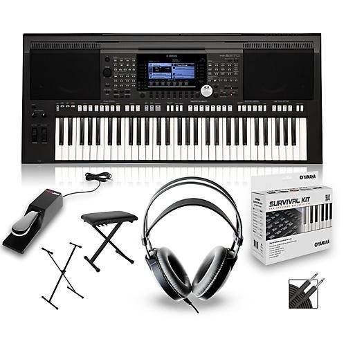 yamaha psr s970 arranger keyboard package musician 39 s friend. Black Bedroom Furniture Sets. Home Design Ideas