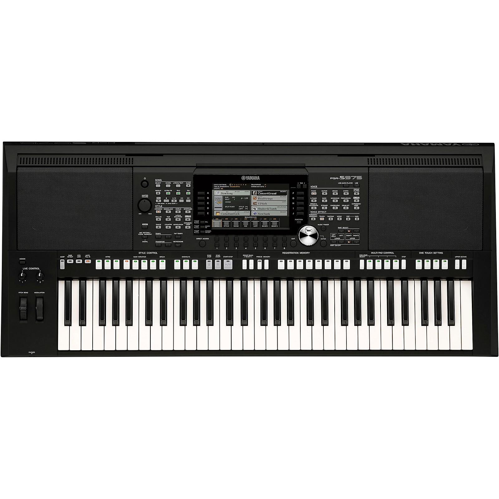 Yamaha PSR-S975 61-Key Portable Arranger Keyboard