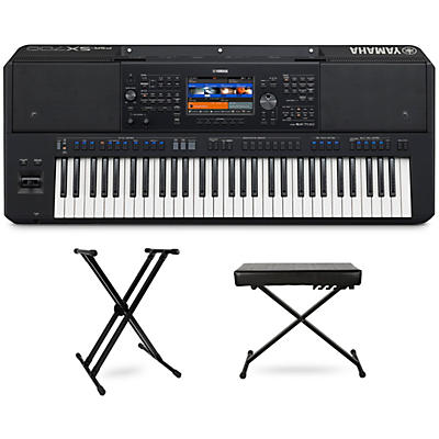 Yamaha PSR-SX700 Keyboard with Stand and Bench